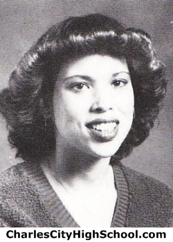 Rhonda Crawley yearbook picture