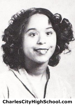 Catherine Glenn yearbook picture