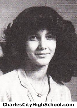 Penny Johnson yearbook picture