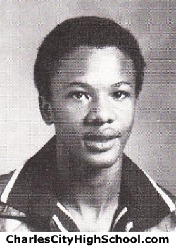 Terry Johnson yearbook picture
