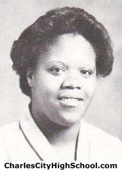 Gail Jones yearbook picture