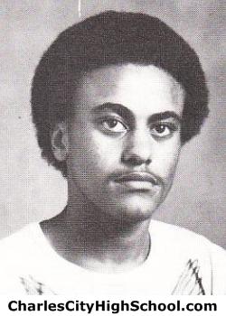 James Jones yearbook picture