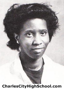 Thelma Logan yearbook picture