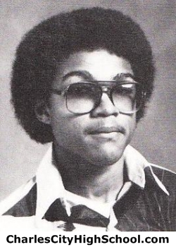 James Overby yearbook picture