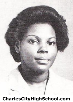 Shirley Paige yearbook picture