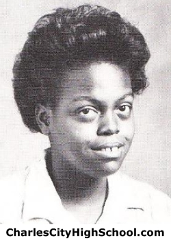 Giselle Price yearbook picture
