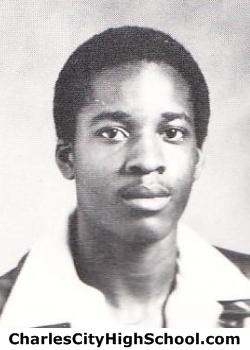 Willie Spruell yearbook picture
