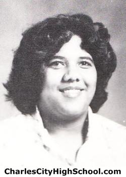 Celestine Stewart yearbook picture