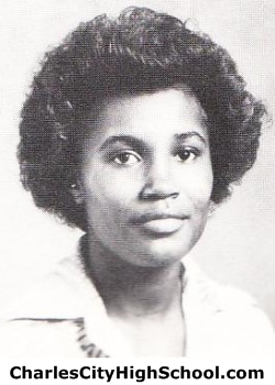 Fostina Tabb yearbook picture