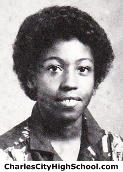 Carolyn Wade yearbook picture