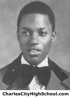 Alvin Banks yearbook picture