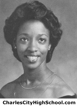 Cynthia Christian yearbook picture