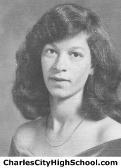 Rhonda Johnson yearbook picture