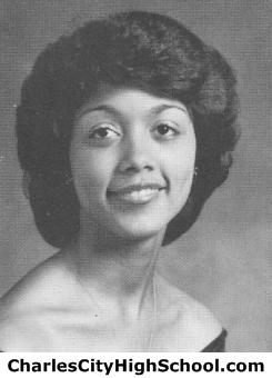 Andrea Jones yearbook picture