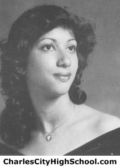 Carla Jones yearbook picture