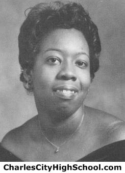 Shirley Jones yearbook picture