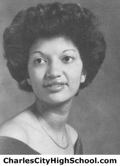 Carla M. Miles yearbook picture