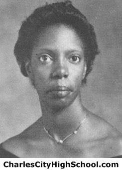 Josette Miles yearbook picture