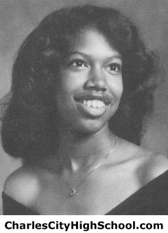 Monica Parker yearbook picture