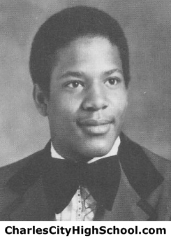 Johnnie Payne yearbook picture