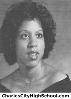 Loretta Rhodes yearbook picture