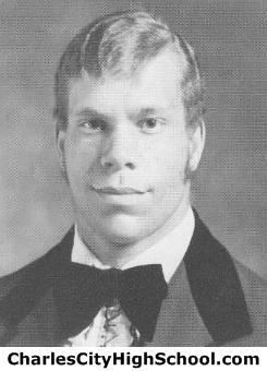 Clark Stewart yearbook picture