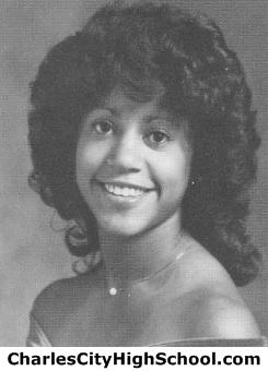 Melanie Stewart yearbook picture