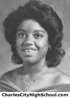 Glenda Washington yearbook picture