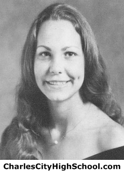 Barbara Whitehead yearbook picture