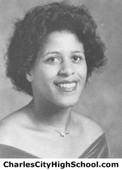 Bernice Williams yearbook picture