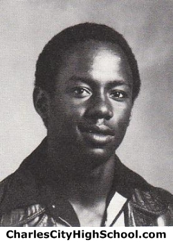 Calvin Banks yearbook picture