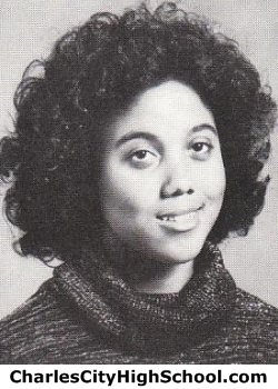 Lorna Bowman yearbook picture