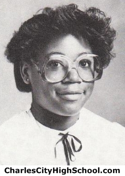 Andrea Brown yearbook picture