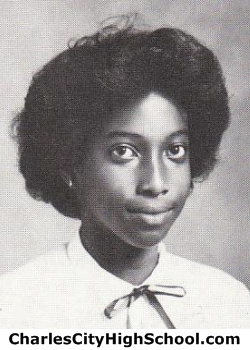 Cheryl Brown yearbook picture