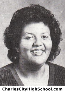 Clovia Brown yearbook picture