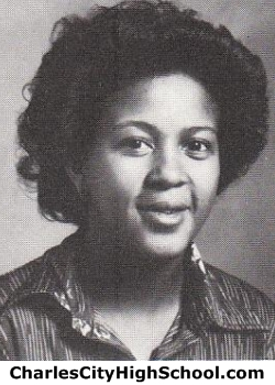 Queen Brown yearbook picture
