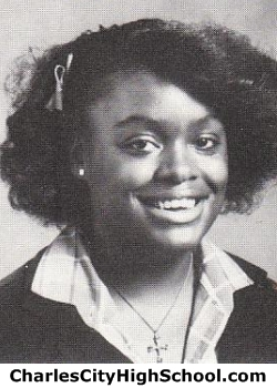 Valerie Brown yearbook picture