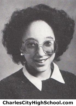 Sharon Charity yearbook picture