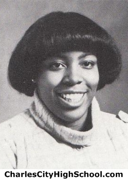 Monica Christian yearbook picture