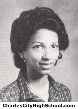 Valeria Christian yearbook picture