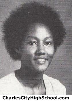 Wanda Cooper yearbook picture