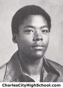 Darryl Crawley yearbook picture