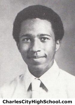 Calvin Crewe yearbook picture