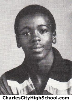 Alphonso Harris yearbook picture