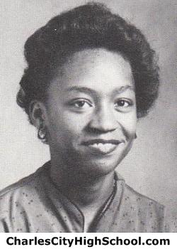 Wanda Harris yearbook picture