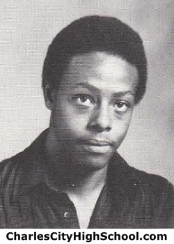 Garrett Howard yearbook picture