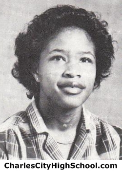 Cheryl Jefferson yearbook picture
