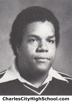 Thomas Johnson yearbook picture