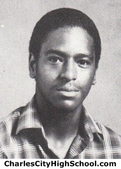 Clarence Logan yearbook picture