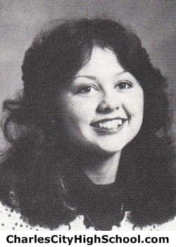Adrienne Miles yearbook picture